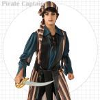 コスチューム 海賊 パイレーツ キャプテン 105-135cm 子供用 男の子 ハロウィン 衣装 キッズ コスプレ S M (DM便不可)