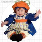 ショッピングハロウィン かぼちゃ キッズ パンプキン コスチューム ラガマフィン 105-120cm 女の子 ハロウィン 仮装 子供 衣装 コスプレ