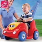 乗物玩具 車 STEP2 プッシュ アラウンド バギー 10周年記念モデル レッド