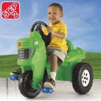 Online ONLY(海外取寄)/ 乗物玩具 三輪車 STEP2 ペダル ファーム トラクター