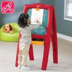 知育玩具 黒板 イーゼル フォートゥー レッド STEP2 885200 /配送区分A