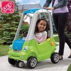 乗物玩具 車 STEP2 イージー ターン クーペ グリーン 子供 キッズ 乗り物