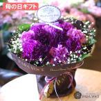ムーンダストの花束 (S) 12本  母の日プレゼント 母の日ギフト 花 青い花 青いカーネーション 紫のカーネーション 立つブーケ