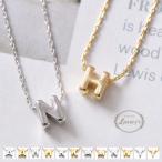 ネックレス イニシャル 小さい ミニ モチーフ メタル メタリック ゴールド シルバー 上品 カジュアル レディース Luxury's ラグリーズ