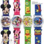 腕時計 Disney ディズニー キャラクター ラバー ウォッチ ミッキー ミニー ドナルド