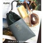 Plepic  Holiday Sunny Pocket  ブランド サングラス ケース 眼鏡 メガネケース カバー