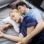 カップル枕 昼寝枕 低反発 ネックピロー 快適腕まくら 睡眠を向上するサブ枕 腕が痺れない カップル枕 机 オフィス枕  ホワイト