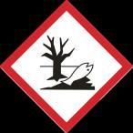 取寄 防犯・防災用品 37208 GHSステッカー標識 環境 70×70mm 5枚組 PET 日本緑十字社