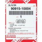 トヨタ純正 オイルフィルター 90915−10004