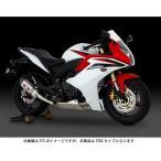 【お取寄せ】ヨシムラ CBR600F('11-)/CB600F ホーネット('07-)用 Slip-On R-77S サイクロンEXPORT SPEC  政府認証(STBC) 110-417-5W80B