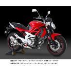 ヨシムラ グラディウス400/650用 Slip-On R-77S サイクロンカーボンエンドEXPORT SPEC/STBC(チタンブルーカバー/カーボンエンドタイプ) 110-167-5W80B