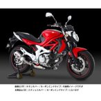 ヨシムラ グラディウス400/650用 Slip-On R-77S サイクロンカーボンエンドEXPORT SPEC/SSC(ステンレスカバー/カーボンエンドタイプ) 110-167-5W50