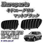 Europarts(ユーロパーツ) キドニーグリル BMW X3 F25 11-UP マットブラック