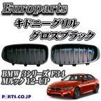 Europarts(ユーロパーツ) キドニーグリル BMW 3シリーズ F34 Mルック 12-UP グロスブラック