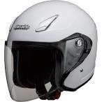 マルシン Marushin ジェットヘルメット M-430 ホワイトメタリック フリーサイズ 57 60CM