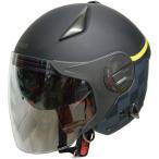 RN-999W ルノー Wシールドジェットヘルメット マットブラック