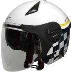 RN-999W ルノー Wシールドジェットヘルメット ホワイト