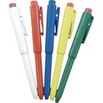 取寄 66216901 バーキンタ ボールペン J802 本体:緑 インク:赤 BCPNーJ802 GR バーテック 1本