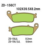 ショッピングVesrah Vesrah(べスラ) ZD-156/2CT シンタードメタルスポーツパッド メーカー品番:ZD-156/2CT 1セット