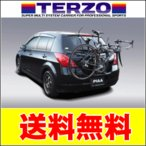 税込 送料無料 TERZO ライト・サイクルキャリア 3台積 サリス EC16BK3 カラー:ブラック