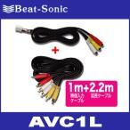 ビートソニック  AVC1L  ビデオ入力アダプター (レクサス/トヨタ/ダイハツ/日産/マツダ/ホンダ用)  Beat-Sonic