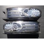 トヨタ クリスタル LEDヘッドライトウインカー パークシグナル ブラック FJクルーザー