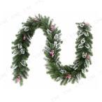 [残在庫1本] パーティーグッズ 雑貨 装飾 長さ270×直径30cmフロストガーランド 樹氷