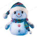 パーティーグッズ クリスマスパーティー 雑貨 EVAスノーマン ノルディックブルー 14cm