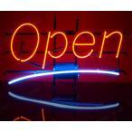 取寄品  ネオンサイン Big Open Red/Blue