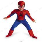 スパイダーマン マッスル 子供用 2T 仮装 衣装 コスプレ ハロウィン 子供 キッズ コスチューム キャラクター