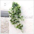 人工観葉植物 リーフスワッグ(グレープバイン/120cm) ツル 蔓 フェイクグリーン インテリアグリーン