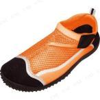 マリンシューズ F1506A-54M オレンジ 26〜27cm プール用品 ビーチグッズ 大人用 アクアシューズ ウォーターシューズ 靴