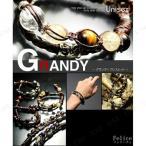 Grandy(グランディー ) ブレスレット 001 オニキス&ヘマタイト ファッション 美容 ジュエリー アクセサリー メンズ 男性用 ブレスレット