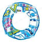 浮き輪50cm ジオラマタウン プール用品 ビーチグッズ 海水浴 水物 浮輪 うきわ ウキワ 水遊び用品 浮き輪 子供 子供用 50cm以下 子ども用