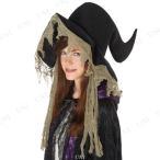 ハロウィン 衣装 プチ仮装 変装グッズ ぼうし 魔女帽子