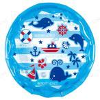 丸型プール 65cm マリンブルー キッズプール ビニールプール 小さい 子供用 プール用品 ビーチグッズ 海水浴