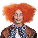 マッドハッター DXウィッグ 大人用 ハロウィン 衣装 プチ仮装 変装グッズ コスプレ パーティーグッズ かつら カツラ ディズニー 公式 童話 おと