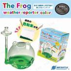 ザ・フロッグウェザーリポーター カラー 色粉付き 学校教材 自由研究 実験