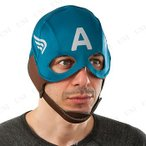 レトロキャプテンアメリカ ファブリックマスク ハロウィン 衣装 プチ仮装 変装グッズ コスプレ パーティーグッズ かぶりもの 映画 公式 大人用 Ca
