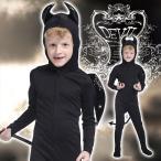 ハロウィン コスプレ 衣装 仮装 コスチューム 悪魔 子供用 男の子 女の子 ばい菌 バイキンマン 「デビルタイツキッズ」