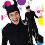 ハロウィン コスプレ 衣装 仮装 コスチューム 悪魔 バイキン ばい菌 メンズ レディース 男性用 女性用 男女共用 「デビルタイツ Men's」