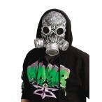 ゾンビ仮装ガスマスク衣装バイオハザード風コスプレフェイスマスクコスチュームハロウィン「BIOZombieMask」