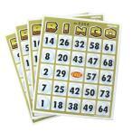 ビンゴ カード 台紙 「ビンゴカード50(50枚入)」 イベントパーティーゲーム