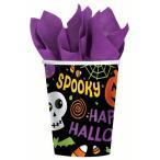 ハロウィン装飾「カップスプークタキュラー」飾りデコレーションテーブルウェア紙コップパーティー