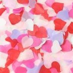 Yahoo!パーティーパラダイス「コンフェッティ ハート ラブ」紙ふぶき 紙吹雪 結婚式 誕生日 バースデー ブライダル ウェディング バレンタイン イベント 装飾品 飾りつけ パーティー