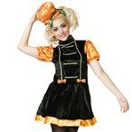 特価♪「パンプキンマーチ」レディース女性用ハロウィン衣装仮装コスチュームマーチングバンド♪かぼちゃヘッドピース付きワンピ