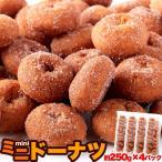 7個で1個多くおまけ ネット販売限定商品 みんな大好き!一口サイズのドーナツが夢の食べ放題級!!ミニドーナツ 1kg(250g×4袋)