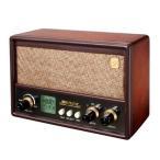 【唱歌ラヂオ ACアダプターセット】通販品 真空管ラジオの外装でインテリアとしても 音楽 父の日 プレゼントしても唱歌ラヂオ ACアダプターセットP25Jun15