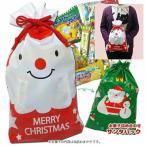 ショッピングお菓子 クリスマス お菓子 詰め合わせ 可愛いクリスマス巾着袋に駄菓子を詰めたギフト 税込280円 CR-OKS18