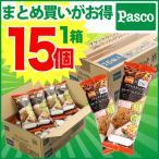 Pasco ブランスティック 3種のナッツ&グラノーラ 15個入